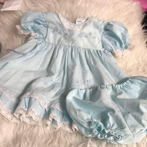Blue baby dress